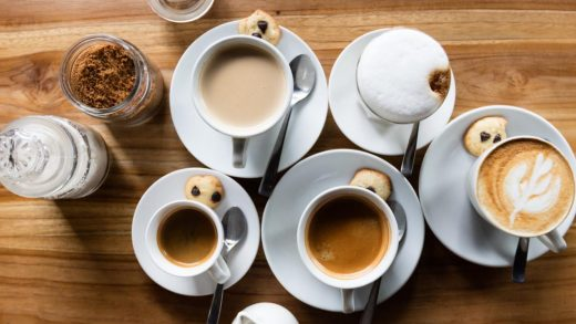 Types of Coffee Drinks at Coffee Shops