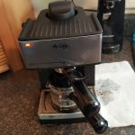 Question] I got a cheap espresso maker and it keeps exploding coffee  everywhere : Coffee