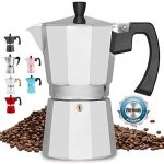 Zulay Classic Stovetop Espresso Maker for Great Flavored Strong Espresso,  Classic Italian Style 8 Espresso Cup Moka Pot, Makes Delicious Coffee, Easy  to Operate & Quick Cleanup Pot - Coffee Tool Box
