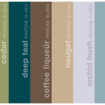 colors that go with espresso | A Color Specialist in Charlotte: Pantone's  Deep Teal and ... | Teal living rooms, Brown living room, Brown wedding