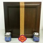 Choosing the Right Dark Gel Stain. Java Gel Stain vs Walnut.   Staining  cabinets, Decor, Painting cabinets