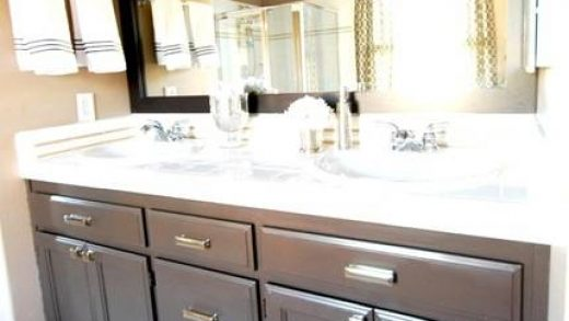 Budget Bathroom Makeover + Linky   Centsational Style