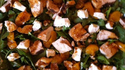 The LadyGirls' Table: Espresso Infused Balsamic Vinegar Chicken Salad