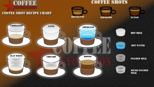 Differences and how to make popular coffees in our vs guide