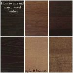How to Mix, Match and Coordinate Wood Stains / Undertones - Kylie M  Interiors | Staining wood, Wood bedroom furniture, Wood furniture living  room