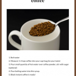 How To Make Espresso Shots With Instant Coffee - arxiusarquitectura