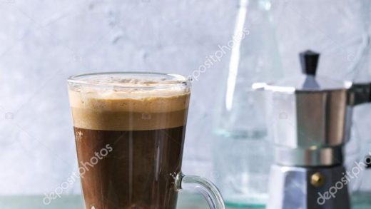 Coffee espresso with sparkling water ⬇ Stock Photo, Image by © NatashaBreen  #183651422