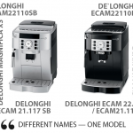 My Delonghi ECAM22110SB (22.110/21.116/21.117) Review and Comparison with  ESAM3300 and ECAM 23.420/23.210/23.120 | 101Coffeemachines.Info