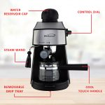 Brentwood GA-125 Espresso and Cappuccino Maker, Black, Brentwood Appliances