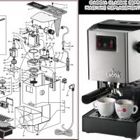 Replacement Portafilter Parts, Replacement Parts and Accessories for Gaggia  Classic Espresso Machines | Dont Pinch My Wallet