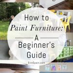 How To Paint Furniture: A Beginner's Guide - Erin Spain