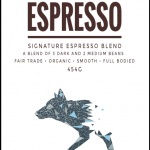 Howling Espresso Blend   Coyote's Coffee Roastery