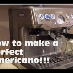 Making an Americano using breville barista express (in 2019) - #3 - YouTube