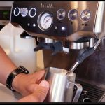 How to Froth and Steam Milk for Latte - Breville Barista Express - YouTube