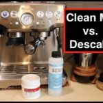 How to: Clean me vs. DeScale | Breville Barista Express - YouTube