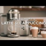 How to make a Latte or Cappuccino in 3 Easy Steps - YouTube