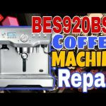 HOW TO REPAIR BREVILLE COFFEE MACHINE BES920 #TEAMPHD - YouTube