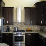 Espresso Painted Kitchen Cabinets - YouTube