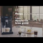 How to insert and remove the brew group of the Philips espresso machines. -  YouTube
