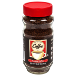 Instant Coffee, 2.82-oz. Jars carried on the shelves of Dollar Tree Stores.  – Coffee Dean
