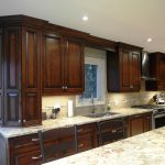 Espresso Stained Maple Cabinet | Houzz