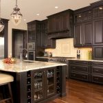 Espresso kitchen cabinets – trendy color for your kitchen furniture