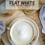 Flat White Coffee recipe from NellieBellie   a simple tutorial