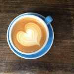Creative coffee! How to make a latte heart design at home