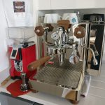Lelit Bianca Dual Boiler Coffee Machine and Espresso Grinder at home in  London.