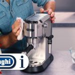 How to clean your Dedica Pump Coffee Maker EC680 and EC685 - YouTube