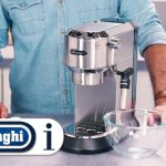 How to descale your Dedica Pump Coffee Maker EC680 and EC685 - YouTube