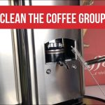 Cleaning the coffee group head - YouTube
