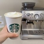 HOW TO make Starbucks White Chocolate Mocha at Home using Breville Barista Expresso  Machine - YouTube