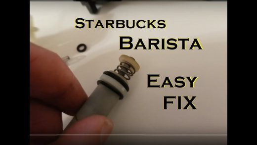 Pump running but No water out of the brew head - Starbucks Barista - Easy  FIX - YouTube