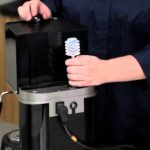 How to prime the boiler on your Espresso Machine - YouTube