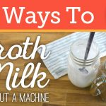 How to Froth & Foam Milk Without an Espresso Machine or Steam   4 Ways -  YouTube