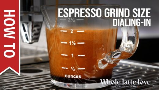 How To Dial In Grind Size for Espresso - Black Friday/Cyber Monday Bonus -  YouTube