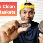 How to clean clogged Coffee Filter Baskets   Breville Barista Express -  YouTube