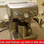 How to do a cleaning cycle on the Breville Espresso machine - YouTube