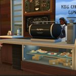 KIDS CAN ORDER FROM ESPRESSO BAR   MOD REVIEW   THE SIMS 4 - YouTube