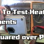 How To Test a Heating Element - YouTube