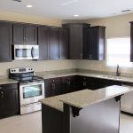 Espresso Cabinets with What Color Granite - YouTube