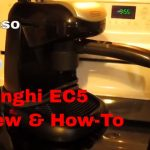 DeLonghi EC5 Espresso Machine Product Review & Quick How-To - YouTube