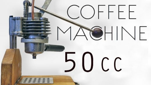 Italian Espresso From Engine Parts • How to make it - YouTube
