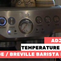 How to change the water temperature to dial in your espresso - Barista  Express coffee Machine - YouTube