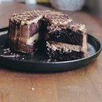 Chocolate Cake with Salted Caramel Frosting and Coffee Ganache – A Taste Of  Grace