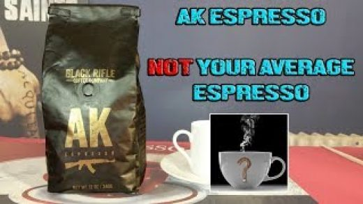 AK ESPRESSO by Black Rifle Coffee Company - NOT Your Average Espresso [  Should I Drink This ] - YouTube