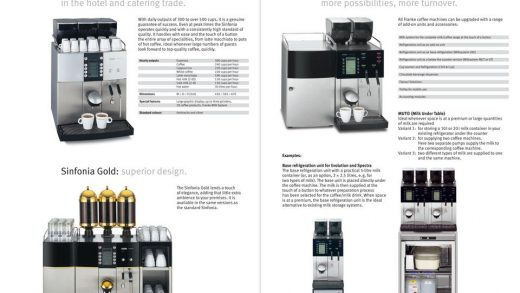 Franke Coffee Systems An outstanding performance, in every category:  overview of all the coffee machines. - PDF Free Download