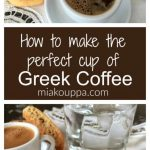 Greek coffee - Taking the guesswork out of Greek cooking...one cup at a time