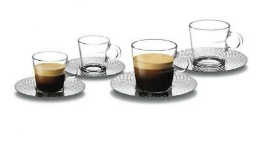 Espresso Cups Home Espresso Cups Set by LVKH - Glass Double Wall Thermo  Insulated 6 Pieces